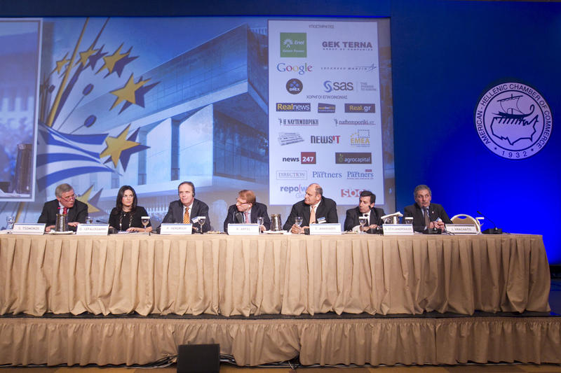 Tourism Panel at Conference on the Greek Economy