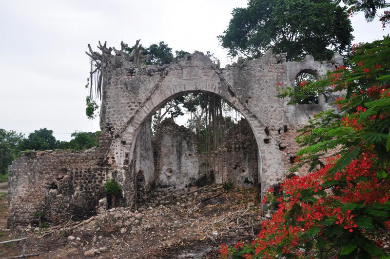 Barrel of Tahcabo church