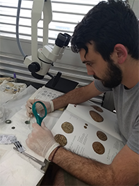 Trent Trombley, a 2019 recipient of the Archaeology of Portugal Fellowship.