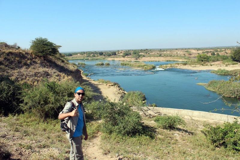 João Cascalheira, in Mozambique