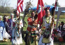 Procession at the Black Creek Festival