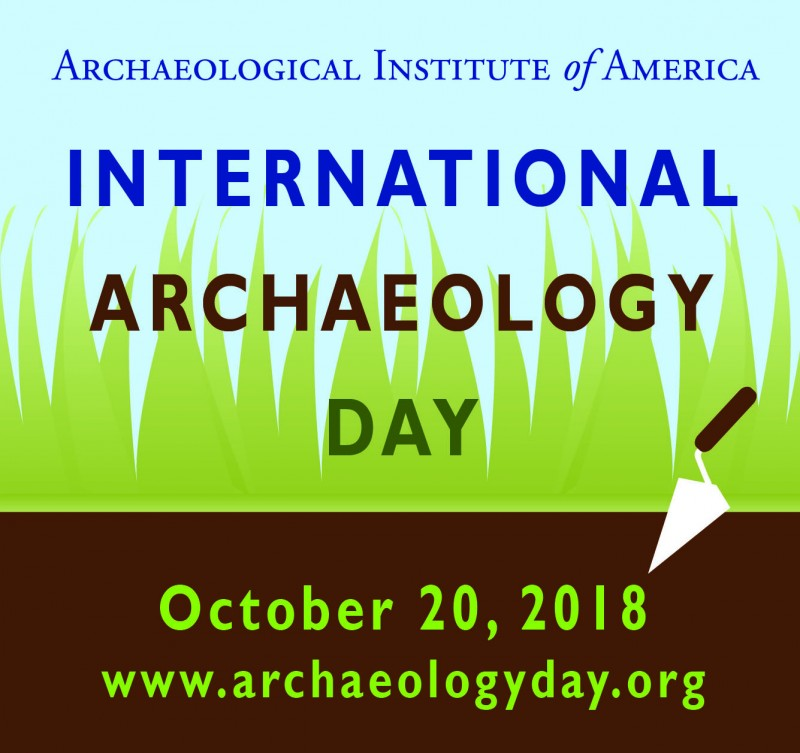 International Archaeology Day - October 20, 2018