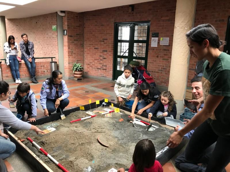 Arqueoton in Bogotá
