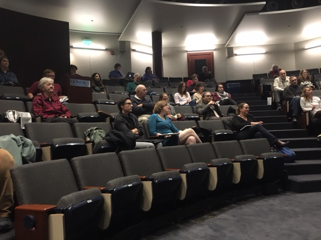 Nearly100 people attended the Archaeology and the Humanities conference for IAD on the Gonzaga University campus. (Photo Courtesy of  A. Goldman)