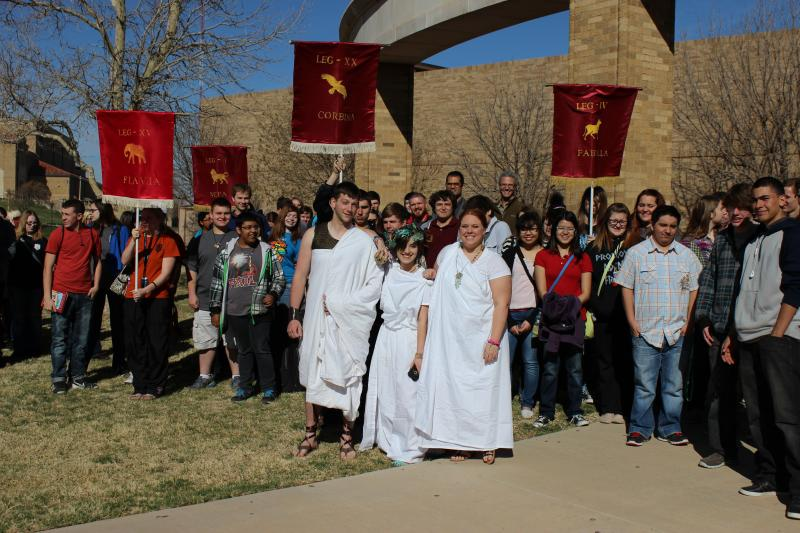 Lubbock, TX Society's Classics and Archaeology Outreach Day 2014