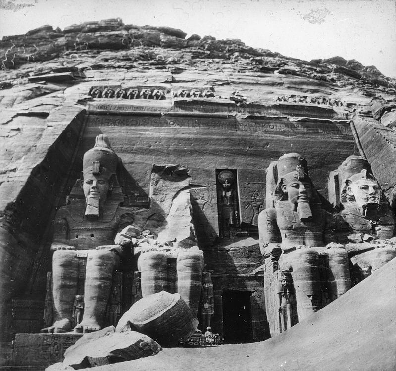 Abu Simbel, Egypt (Photo Source: Brooklyn Museum)