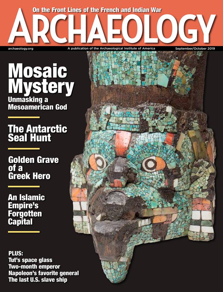 Archaeology Magazine September October 2019 cover