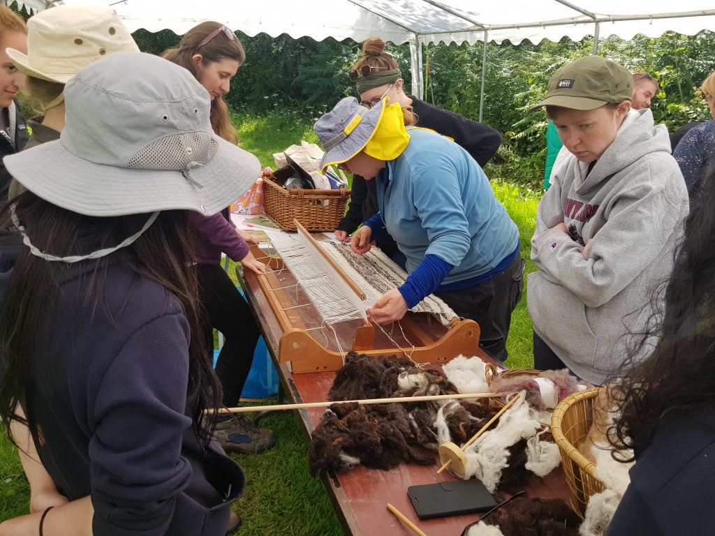 Ferrycarrig Experimental Archaeology – Making Ceramics and Textiles – June 2019