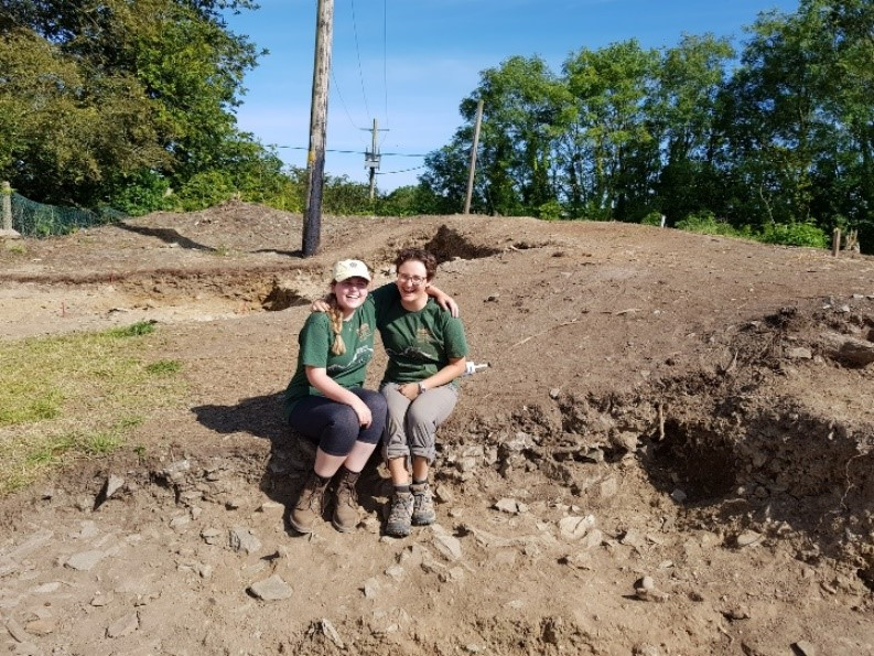 Maynooth University Excavation Programme – Cutting 3 – June 2019