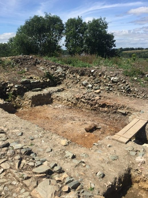Ferrycarrig Cutting 1 Excavations – June and July 2019