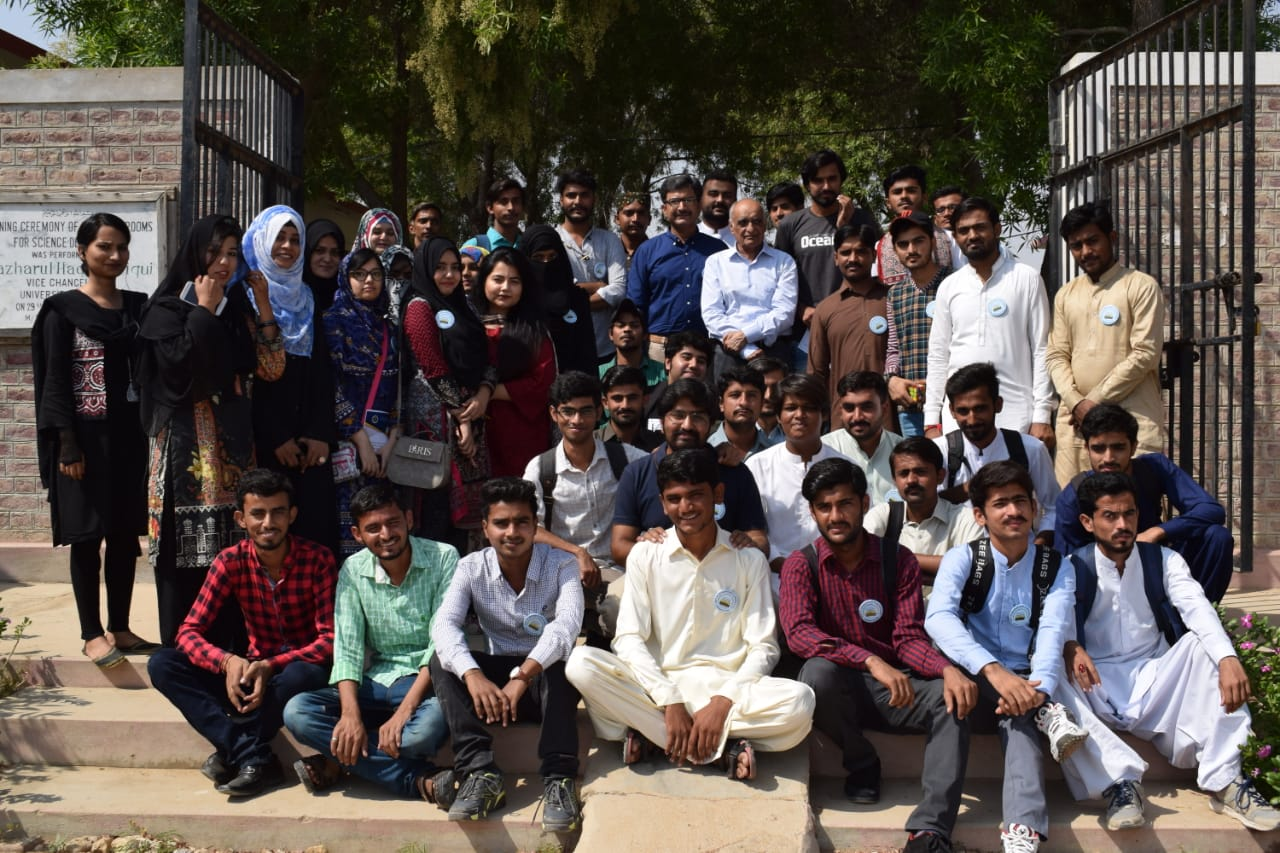 IAD 2019. Group picture of some participants and organizers in Pakistan.