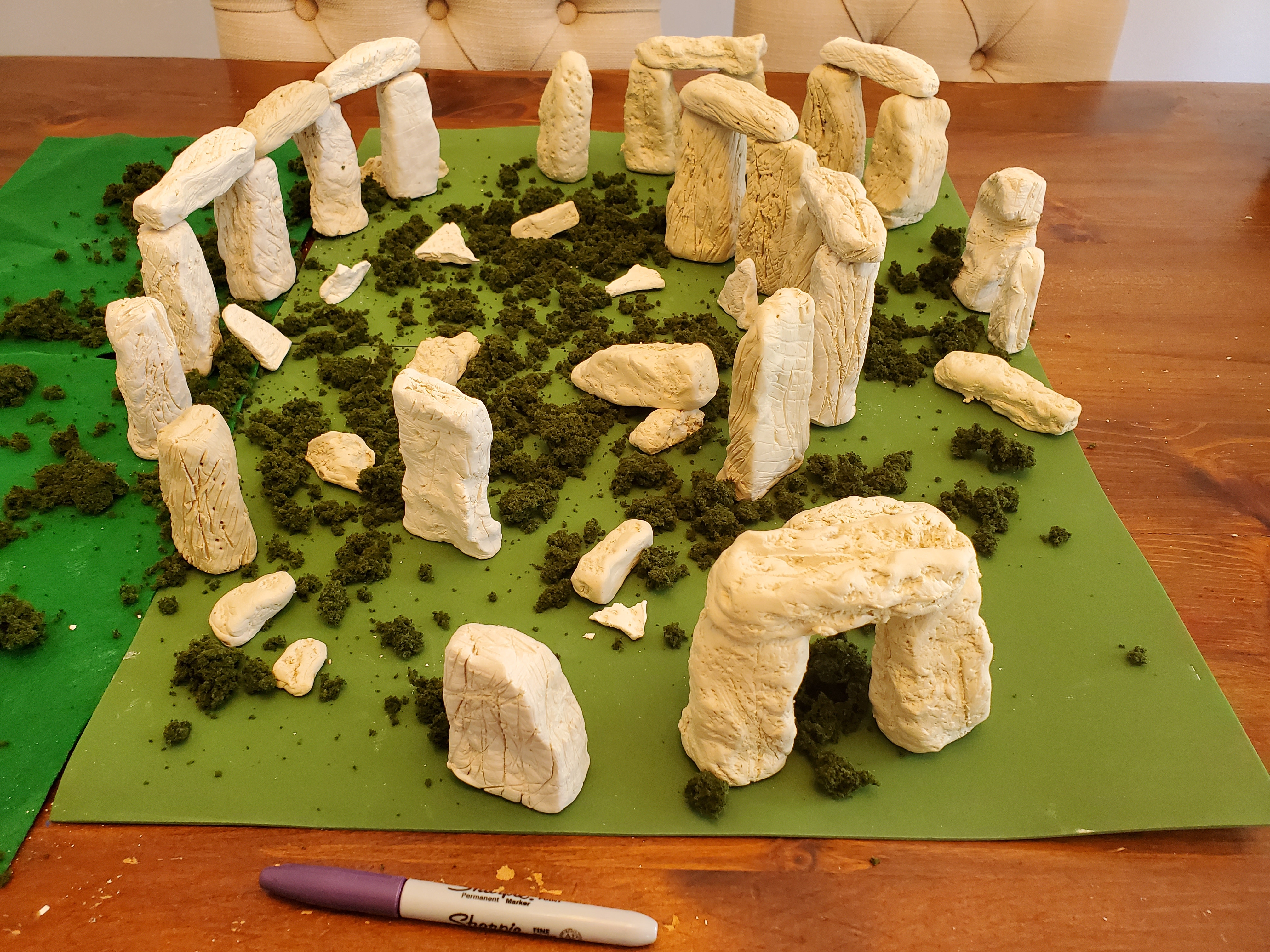 Ryker (age 12) won the judge's pick in the youth category for Stonehenge.